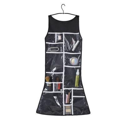 Umbra - Porte-balayette WC-Umbra-Rangement salle de bain petite robe noire 46,4x91,