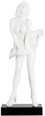 KOKOON DESIGN - Statuette-KOKOON DESIGN-Statuette design poumpoumpidou en polyrésine blanc