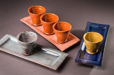 Barbotine - Tasse à café-Barbotine