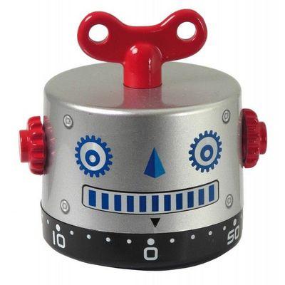 INVOTIS - Minuteur-INVOTIS-Minuteur Robot Argent