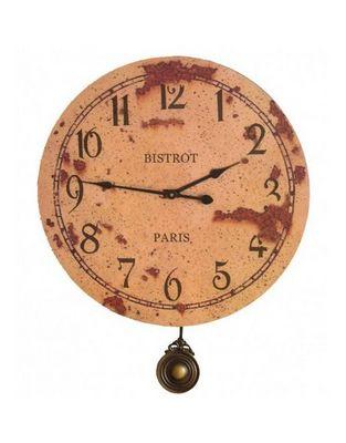 L'HERITIER DU TEMPS - Horloge murale-L'HERITIER DU TEMPS-Horloge Murale Bistrot Paris 46cm