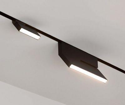 led rail de spots noir eden design decofinder. Black Bedroom Furniture Sets. Home Design Ideas