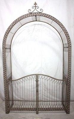 Demeure et Jardin - Portail de jardin-Demeure et Jardin-Arche et portail de jardin en fer forgé