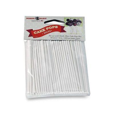 Nordicware - Moule à gâteau-Nordicware-Bâtonnets pour Cake pops en papier x50