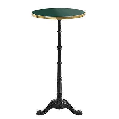 Ardamez - Mange debout-Ardamez-Mange debout émaillé rond / table haute / vert