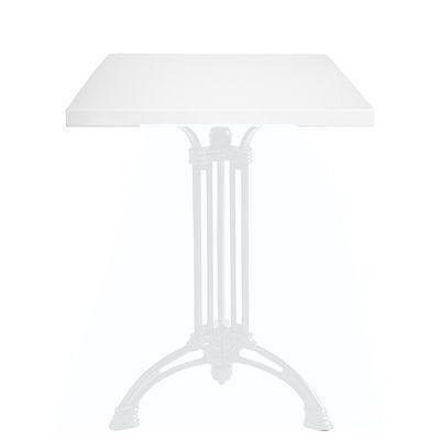 Ardamez - Plateau de table-Ardamez-Plateau de table �maill� sur acier / blanc