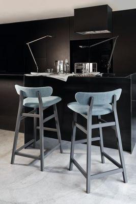 GERVASONI - Chaise haute de bar-GERVASONI-Brick