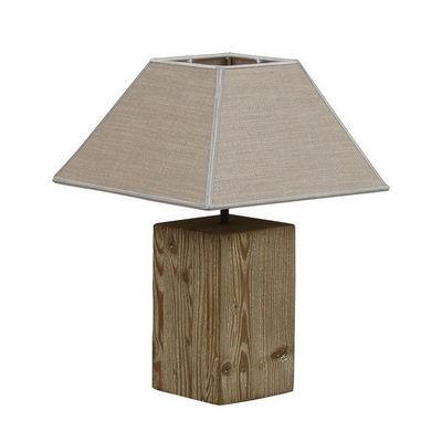Interior's - Lampe à poser-Interior's-Lampe en bois Origine