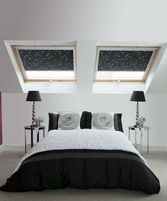DECO SHUTTERS - Store fenêtre de toit (intérieur)-DECO SHUTTERS