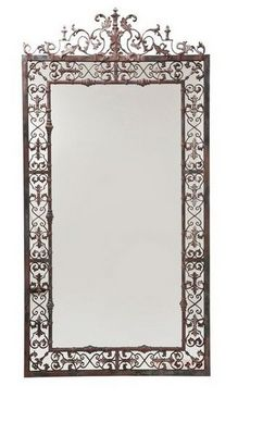 WHITE LABEL - Miroir-WHITE LABEL-Miroir GOLD romantique