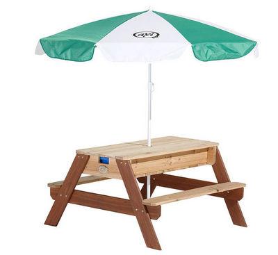 AXI - Table pique-nique-AXI-Table de jeu sable et eau en Cèdre