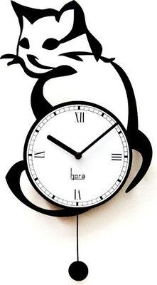 HORA - Horloge murale-HORA-Horloge murale Look@Cat