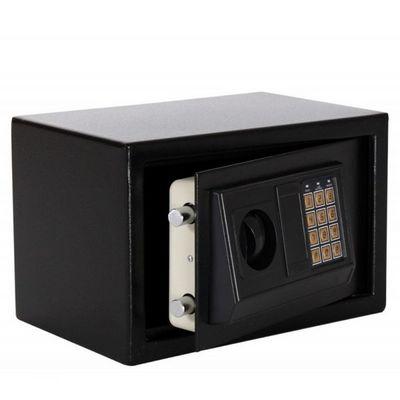 WHITE LABEL - Coffre fort à poser-WHITE LABEL-Mini coffre-fort acier avec serrure code