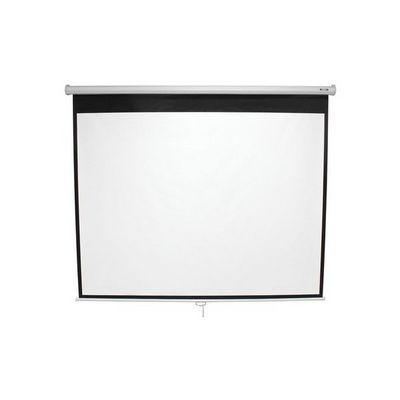 WHITE LABEL - Ecran de projection-WHITE LABEL-Écran de projection 98,4 pouces 178x178cm