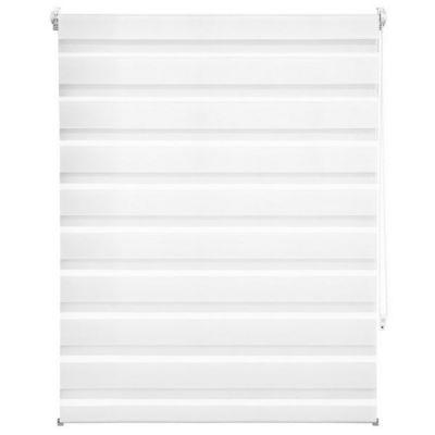 WHITE LABEL - Store enrouleur-WHITE LABEL-Store enrouleur blanc 96 x 120 cm