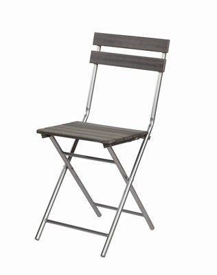 Mathi Design - Chaise pliante-Mathi Design-Chaise pliante bois et fer