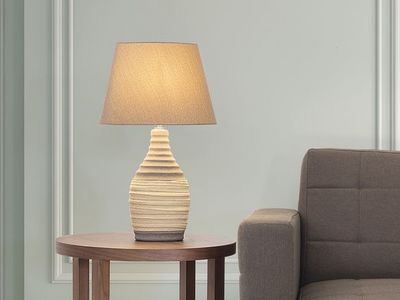 BELIANI - Lampe à poser-BELIANI-Tormes