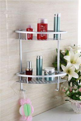 UsiRama.com - Etagère de salle de bains-UsiRama.com-Etagère de douche d'angle mural