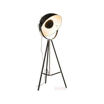 Kare Design - Lampadaire-Kare Design-Lampadaire Bowl noir