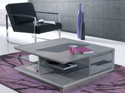 Ateliers De Langres - Table basse carrée-Ateliers De Langres-CERAM - table basse carrée