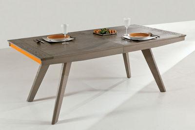 Ateliers De Langres - Table de repas rectangulaire-Ateliers De Langres-TENTATION
