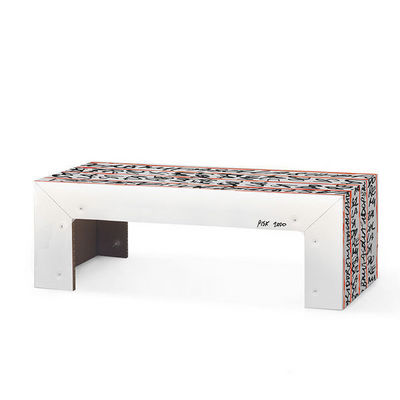 Corvasce Design - Table basse rectangulaire-Corvasce Design-Tavolino in cartone