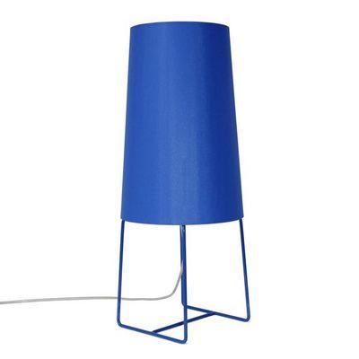 FrauMaier - Lampe à poser-FrauMaier-MINISOPHIE - Lampe à poser Bleu H46cm | Lampe à po