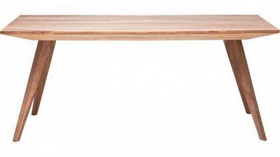 WHITE LABEL - Table de repas rectangulaire-WHITE LABEL-Table repas WILD en bois, 180 cm
