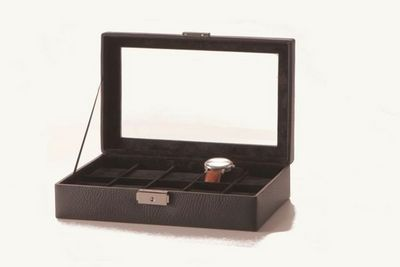 JUST LEATHER - BARCELONA - Coffret à montres-JUST LEATHER - BARCELONA