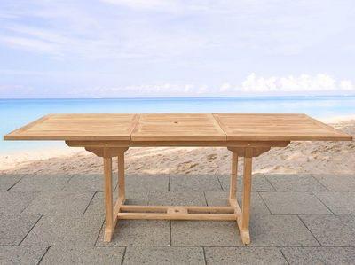 BELIANI - Table de jardin-BELIANI-Tables en bois
