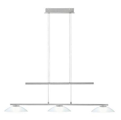 WHITE LABEL - Suspension-WHITE LABEL-Suspension en métal à 3 lampes halogènes