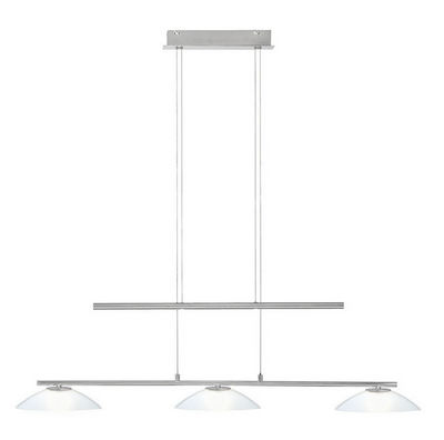 WHITE LABEL - Suspension-WHITE LABEL-Suspension en m�tal � 3 lampes halog�nes