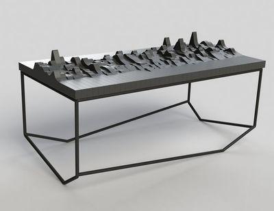 MALHERBE EDITION - Table basse forme originale-MALHERBE EDITION-Table Echo