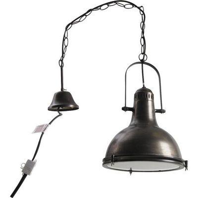 Aubry-Gaspard - Lampe à poser-Aubry-Gaspard-Lampe suspendue en métal
