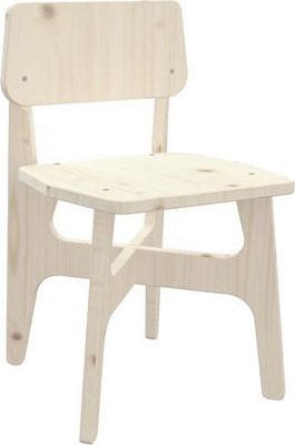 JARDIPOLYS - Chaise enfant-JARDIPOLYS-Chaise jardin en bois Prête à peindre
