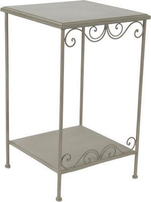 Amadeus - Table d'appoint-Amadeus-Petit meuble d'appoint métal et bois Megeve