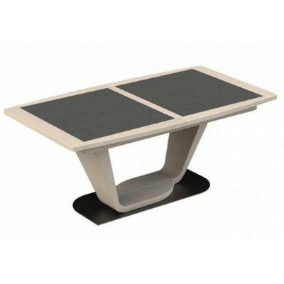 Girardeau - Table de repas rectangulaire-Girardeau-Table tonneau céramique MACAO