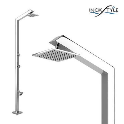 INOXSTYLE - Douche d'extérieur-INOXSTYLE-Tecno Cube L Stylo