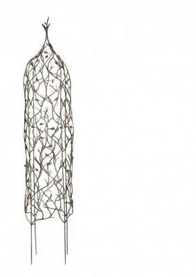 Demeure et Jardin - Obélisque de Jardin-Demeure et Jardin-Obelisque pour plantes grimpantes en fer forgé