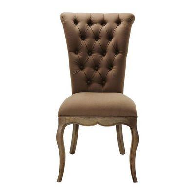 Kare Design - Chaise-Kare Design-Chaise baroque Villa taupe