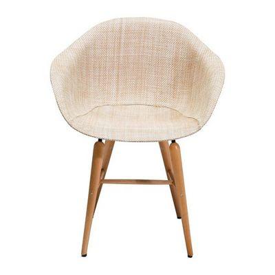 Kare Design - Chaise-Kare Design-Chaise avec accoudoirs Forum naturel
