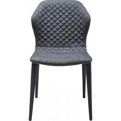 Kare Design - Chaise-Kare Design-Chaise Atlantis gris fonc�