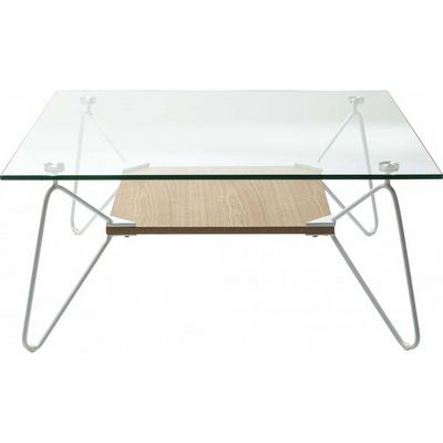 Kare Design - Table basse carrée-Kare Design-Table basse carrée Slope Triangle 80x80cm