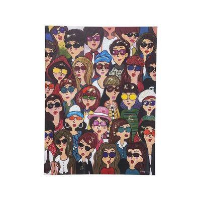 Kare Design - Tableau d�coratif-Kare Design-Tableau Touched Sunglass Girls 120x90