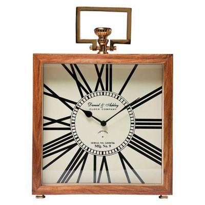 Kare Design - Horloge à poser-Kare Design-Horloge de table Grandfather bois 45 cm