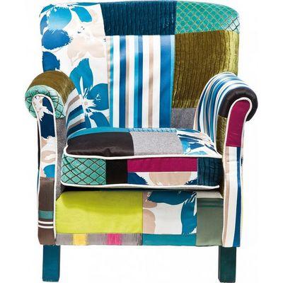 Kare Design - Fauteuil-Kare Design-Fauteuil Patchwork Stripes