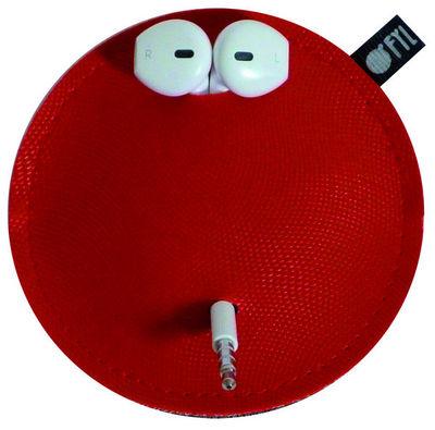 OFYL - Etui de téléphone portable-OFYL-Range-écouteurs Ofyl rouge