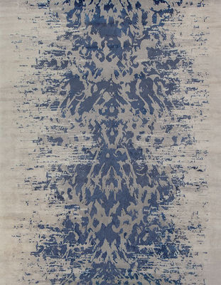 EDITION BOUGAINVILLE - Tapis contemporain-EDITION BOUGAINVILLE-Abaya indigo