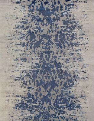 EDITION BOUGAINVILLE - Tapis contemporain-EDITION BOUGAINVILLE-Abaya indigo