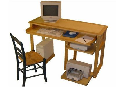 Auboi - Meuble ordinateur-Auboi-Console informatique